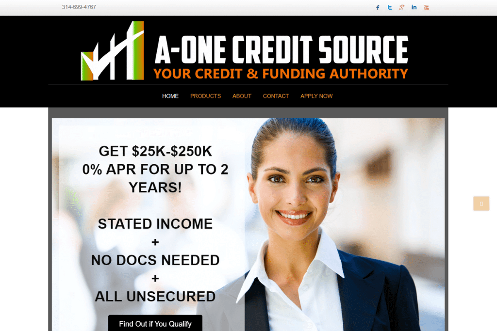A-One Credit Source - Changed the hosting and convert to WordPress