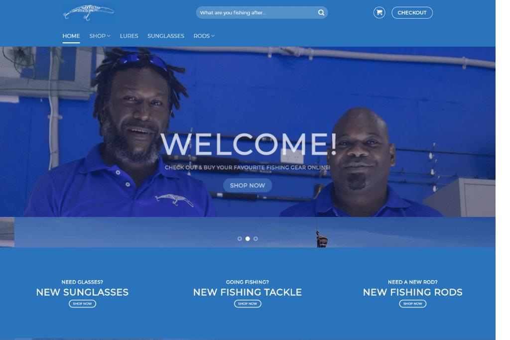 PNG Tackle Shop - Website Update