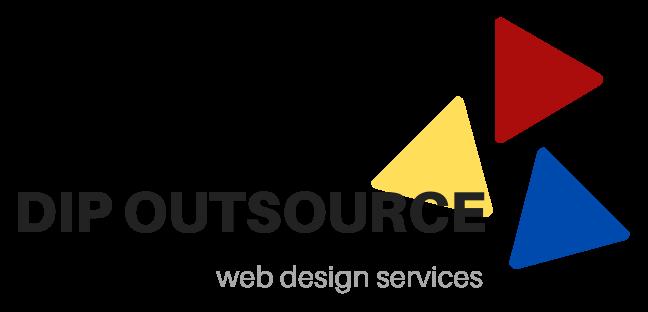 DIP Outsource Web Design Logo