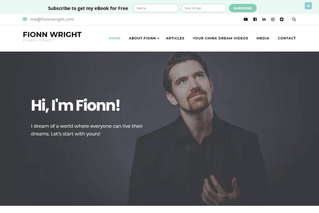 Fionn Wright - Responsive Web Design