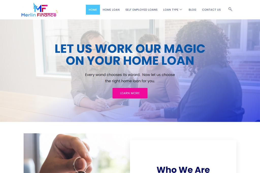 Merlin-Finance-Responsive-Wordpress-Website