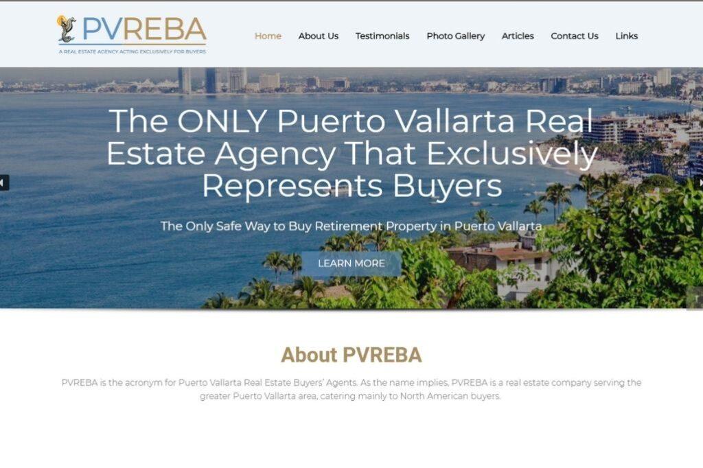 PVREBA - Responsive Website